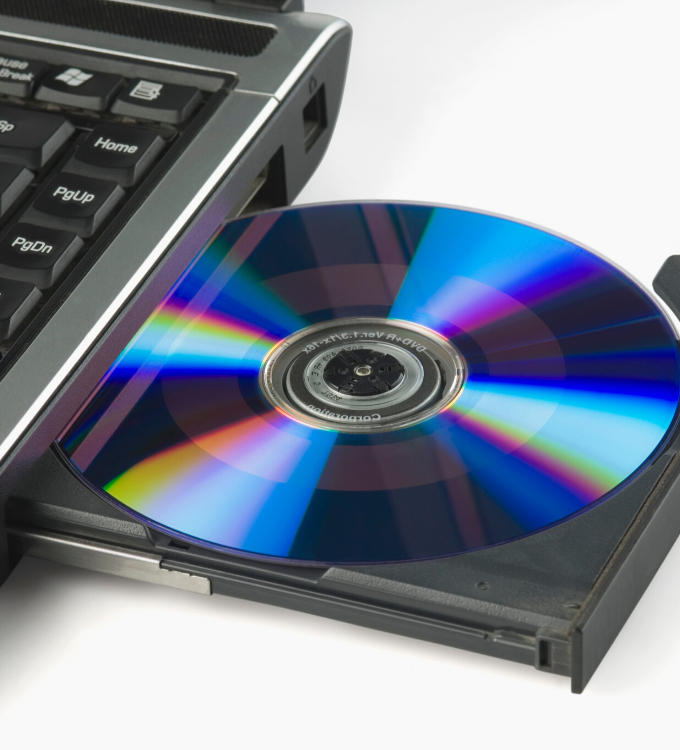 Nadruk na płytach CD i DVD
